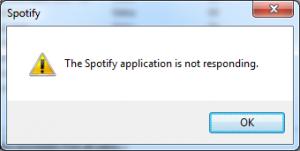 spotify-not-responding